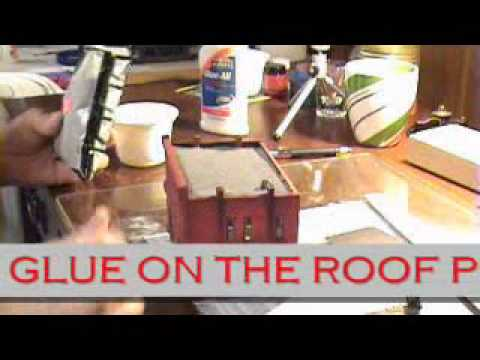 Part 9 - DIY How to Build Scale Model Railroad HO Building - DPM Front Street