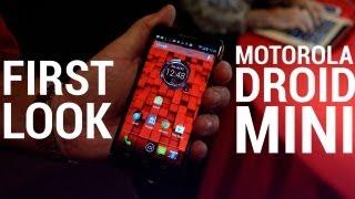 Motorola Droid Mini - First Look!