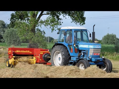 Ford 6710 & New Holland 570 - hooi persen