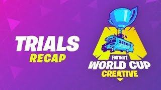 Creative Trials Recap - Fortnite World Cup