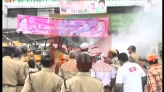 Hyderabad Ganesh auto riksha accident 2014