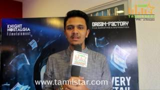 Karthick Naren at Thuruvangal 16 Movie Team Interview