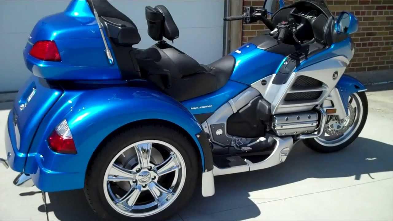 2012 Honda Goldwing Trike For Sale! $34,900 - YouTube