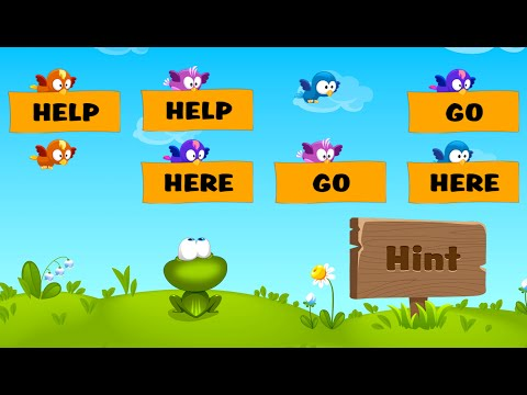Kids Reading Sight Words Educational Education Android GAMEPLAY VİDEO