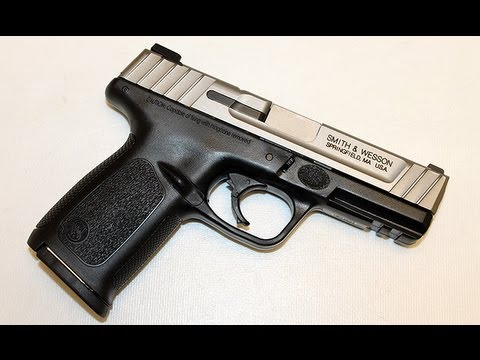 How to field strip a Smith & Wesson SD9 VE