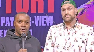 Tyson Fury: Anthony Joshua NO SHOW for SPARRING! He Ain't Got the BOLLOCKS (BALLS)!