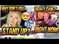 Tfue Gets FORCED By His Chat To STAND UP While Playing With A HOT Fortnite Gamer Girl AWKWARD mp3