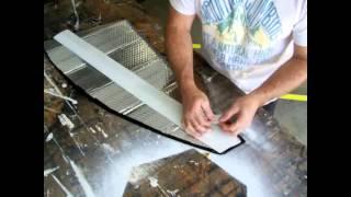 Automobile (solar shades construction)