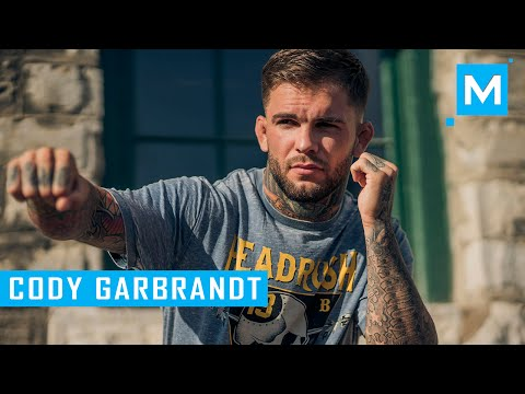 Cody Garbrandt Conditioning Training & Pad Work | Muscle Madness