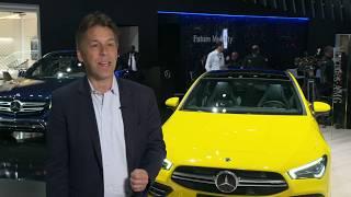 Mercedes-Benz Cars at the 2019 New York International Auto Show Dietmar Exler