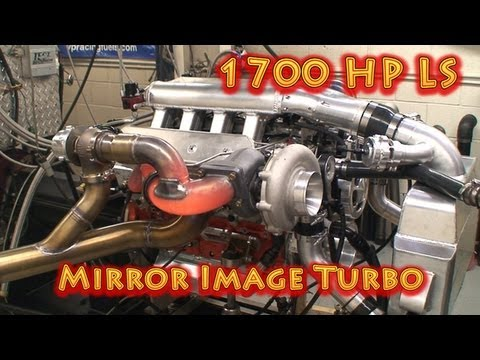 New 1700 HP 427 CI(7L) LS Chevy.  Mirror Image Turbos.Nelson Racing Engines. For Camaro, Corvette.