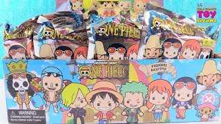 One Piece Shonen Jump Figural Keyrings Blind Bag Toy Opening | PSToyReviews