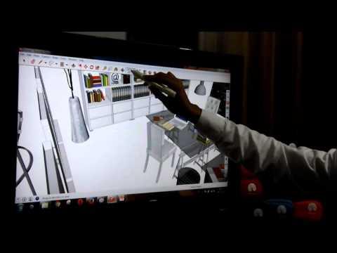 Mengubah TV LCD / LED Biasa Menjadi Touch Screen dengan WeTouch by Touchkoya