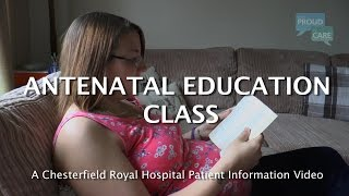 Antenatal Education Class - a guide to pregnancy and caring for your baby