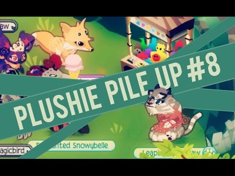 Animal Jam: Plushie Pile Up #8 - Thunder & Plushiessss