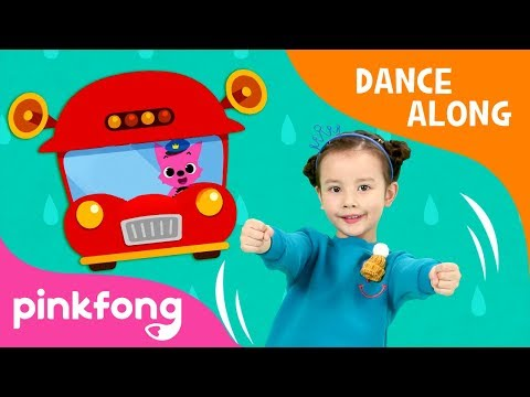 The Wheels on the Bus | Dance Along | Car Song | Pinkfong Songs for Children