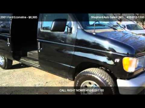 2001 Ford Econoline E250 Cargo Van - for sale in Joppa, MD 21085
