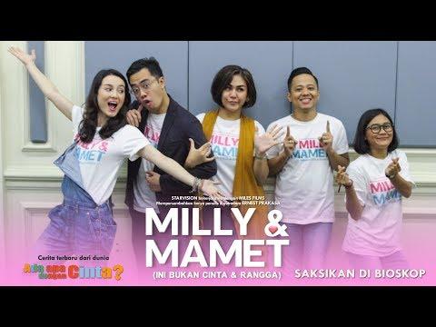 download lagu MILLY & MAMET (Ini Bukan Cinta & Rangga) - Nobar Di Bogor & Media Visit Kumparan gratis