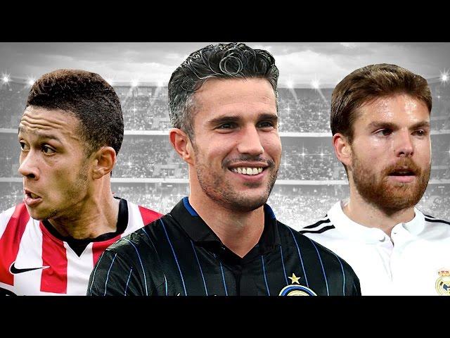 Transfer Talk   Robin van Persie to Inter Milan?