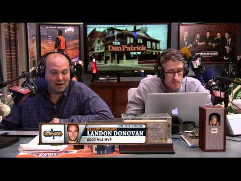 Landon Donovan on The Dan Patrick Show (Full Interview) 10/09/2014