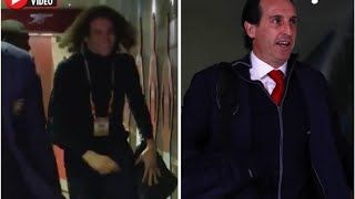 VIDEO: Arsenal star Matteo Guendouzi leaves fans BAFFLED with antics before Europa League clash