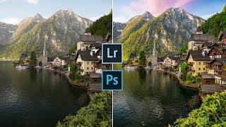 How I Edit Photos   Lightroom & Photoshop Tutorial
