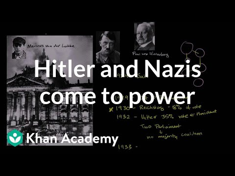 Hitler and the Nazis come to power   The 20th century   World history   Khan Academy