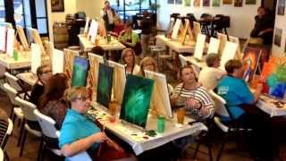 Art and wine at Buffalo Sip and Paint in Billings