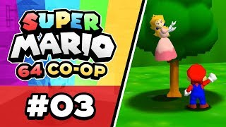 Super Mario 64 Online - EP03 | PEACH IN A TREE!