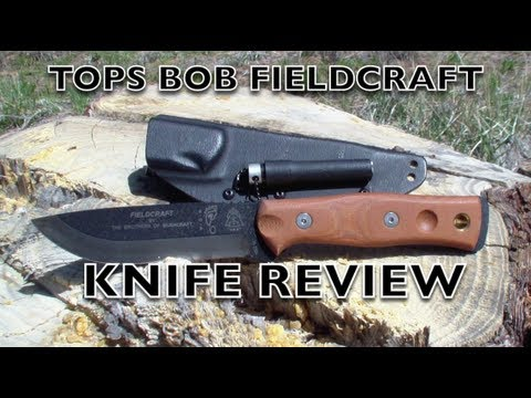 Tops Bob Fieldcraft Knife Review video