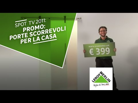 Spot 10 39 39 promo prodotto porta scorrevole youtube - Porta tv leroy merlin ...