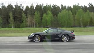 [4k] EVERYTHING vs 580 HP Porsche 991 Turbo S FACELIFT Mk II