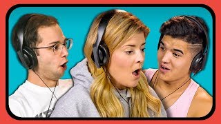 YOUTUBERS REACT TO INVISIBLE BOX CHALLENGE by : FBE