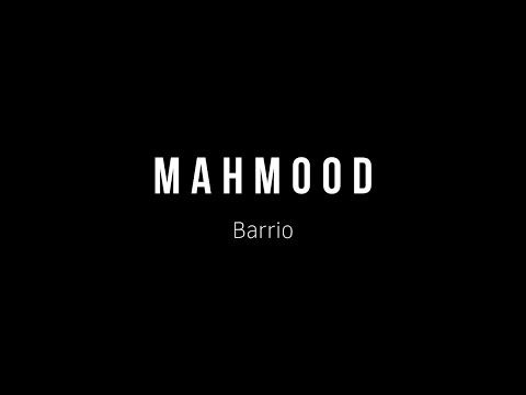 Mahmood -  Barrio (SPANISH and ITALIAN Lyrics)