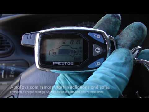 Plymouth Voyager Remote Start, Prestige APS997 Alarm by AUTOTOYS