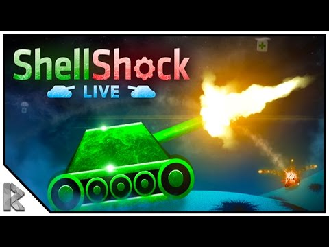 I'M GETTING GOOD, KINDA! (Shellshock Live Gameplay #2