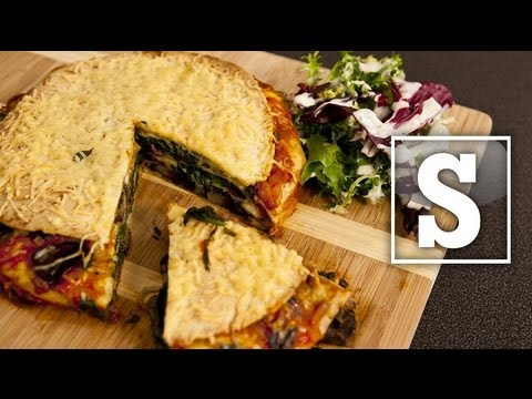 VEGETARIAN TORTILLA LASAGNE RECIPE - SORTED