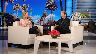 Ellen Welcomes Back a Fan with the Best Reaction