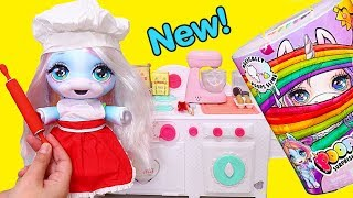 Baby Unicorn Dazzle Darling Makes Cookies ! Toys and Dolls Pretend Play for Kids | SWTAD