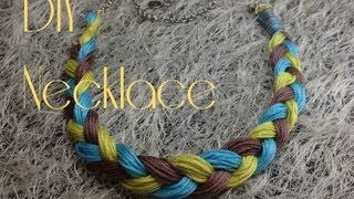 Яркое украшение для осени \ Bright necklace for Autumn time
