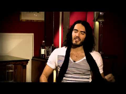 russell brand @ The Hot Desk
