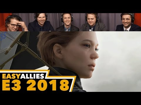 Death Stranding - Easy Allies Reactions - E3 2018
