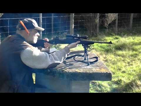 Shooting the Savage mod10FCM Scout Rifle