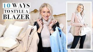 BLAZER STYLING TIPS TO WEAR WITH YOUR EXISTING WARDROBE | INTHEFROW