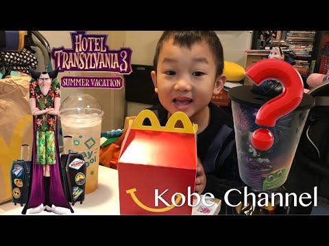 鬼靈精怪大酒店3 怪獸旅行團 X 開心樂園餐 Hotel Transylvania 3 McDonald's Happy Meal ToysReview 尖叫旅社3
