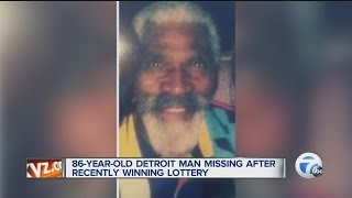 CoMUNnity Mystified N'Shit-86YrOld Detroit Gro & '98 DeVille Go Missing After $20K Lottery Jackpot