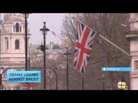 Obama Urging Against Brexit: U.S. President to visit London in bid to keep UK in the EU