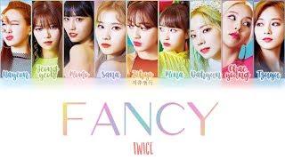 TWICE - FANCY Color Coded Lyrics 가사 | ENG, HAN, ROM