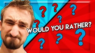 MITCH IS POOPING - Would You Rather w/ BajanCanadian & Dondo