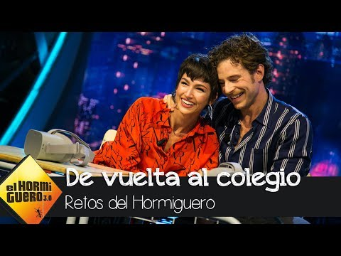 Úrsula Corberó llora y Álvaro Cervantes se emociona al 'volver a su colegio' - El Hormiguero 3.0